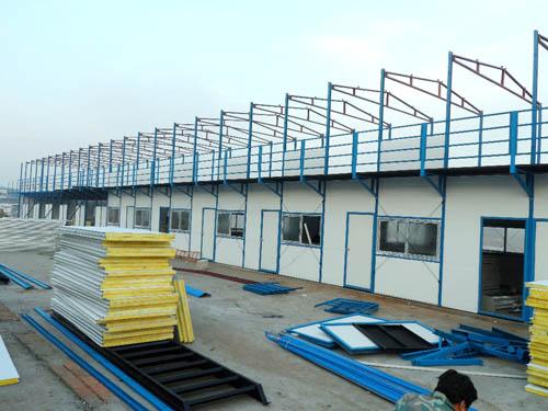 西安鋼結構樓頂加層業績